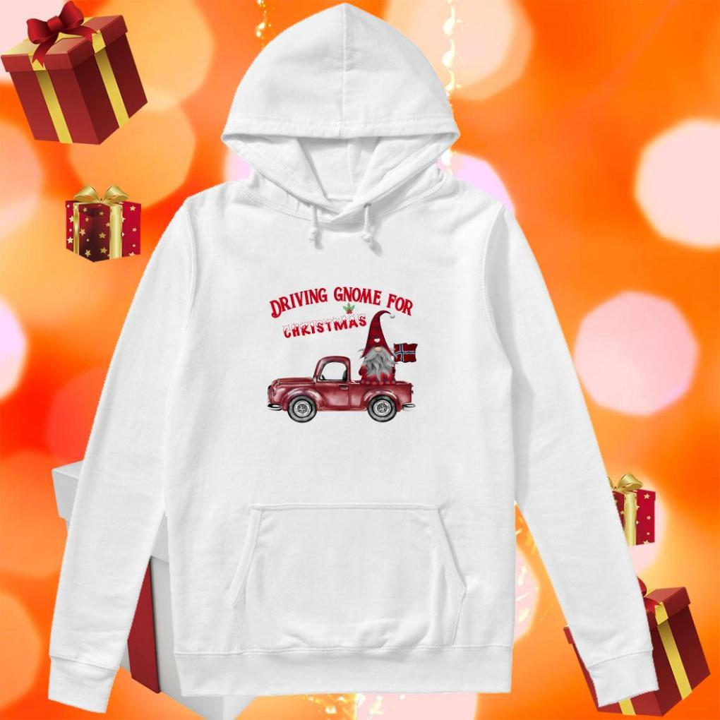 DRIVING GNOME FOR CHRISTMAS NORWEGIAN hoodie