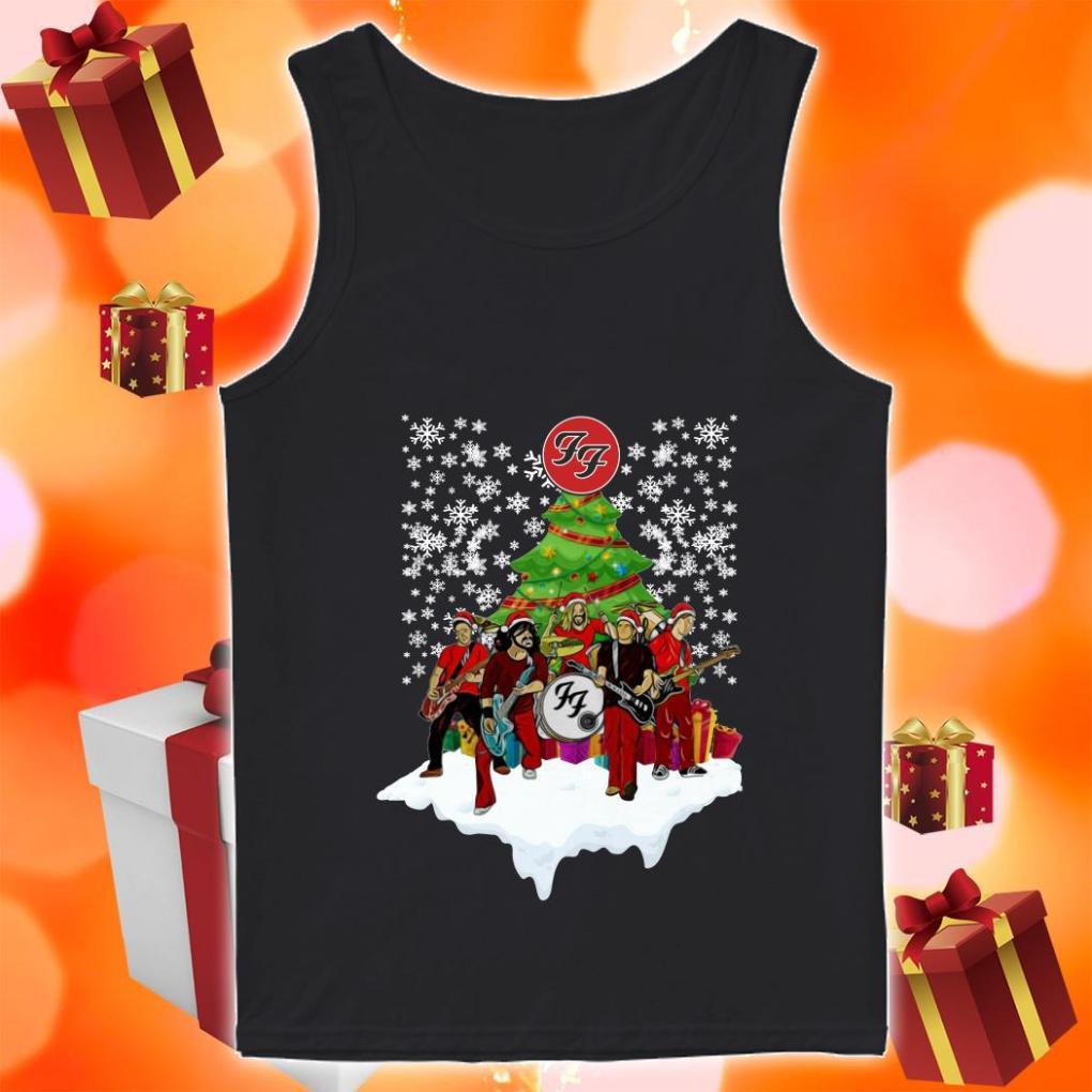 F.F. Band Funny Christmas tank top