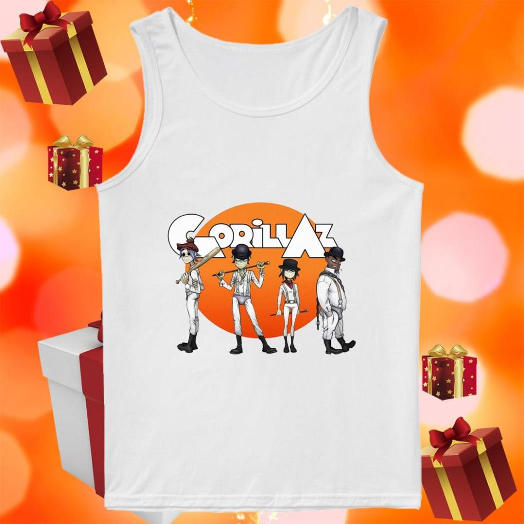 Gorillaz Clockwork Orange tank top