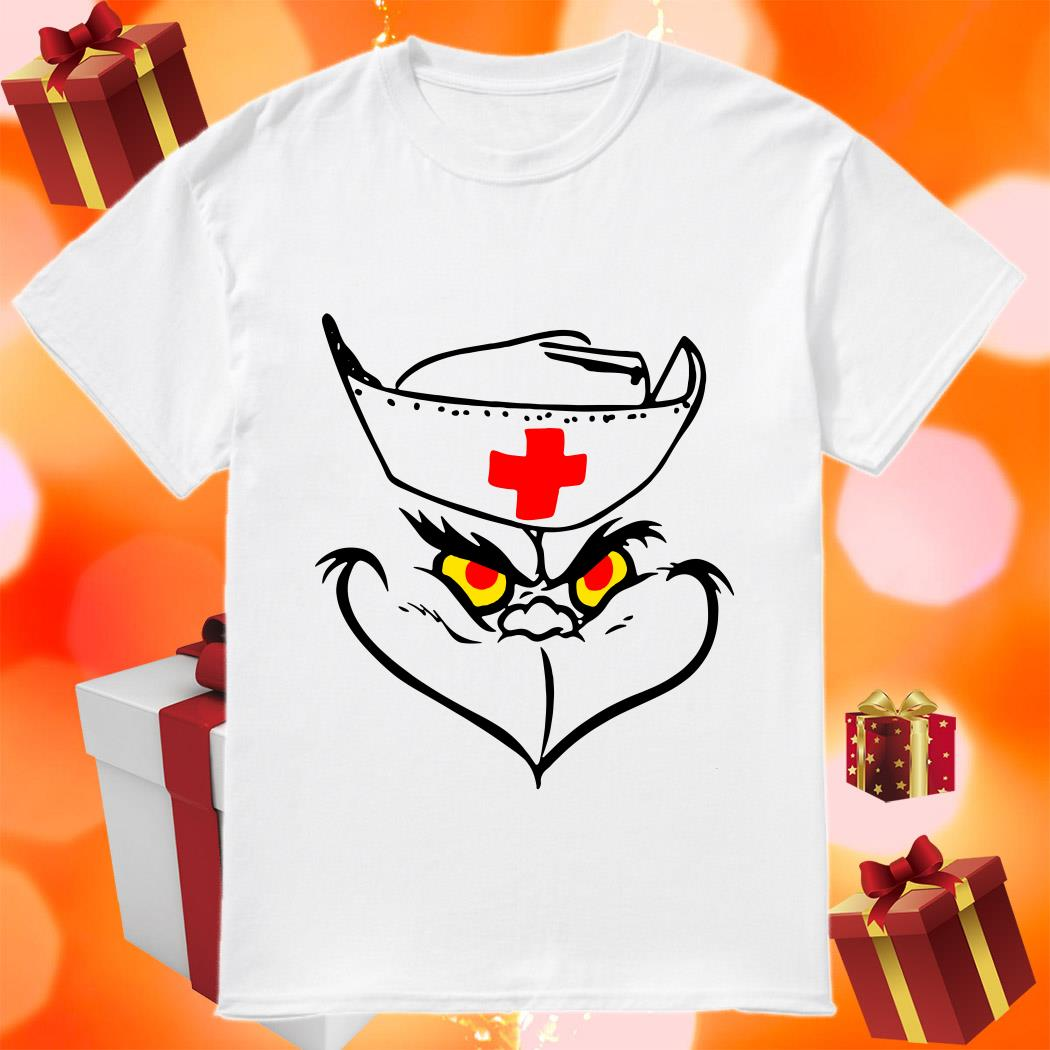 Grinch Nurse funny shirt