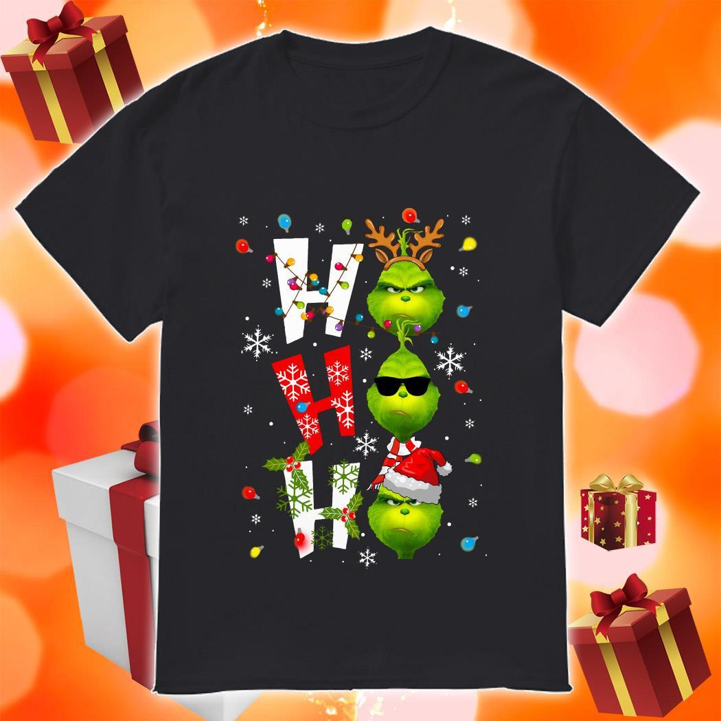 Ho Ho Ho Grinch Christmas shirt
