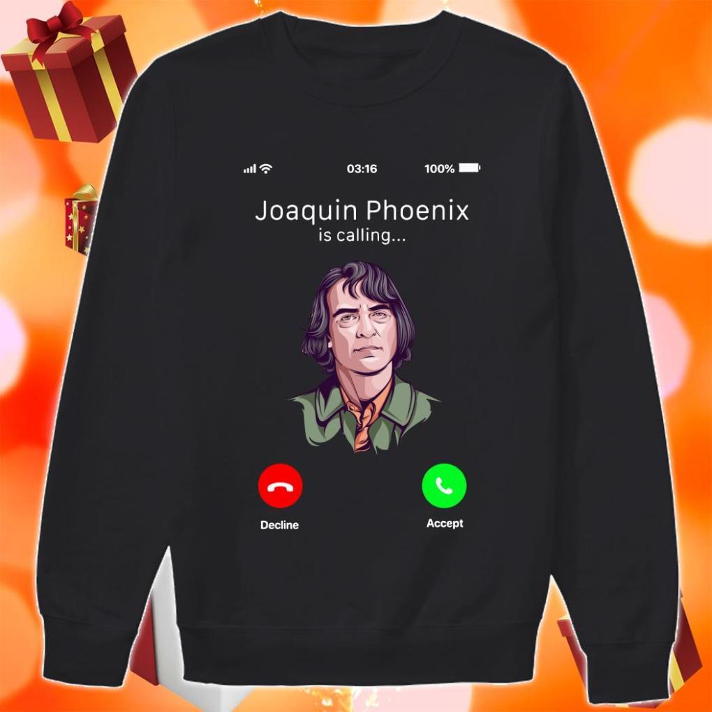 Joaquin Phoenix is calling me sweater