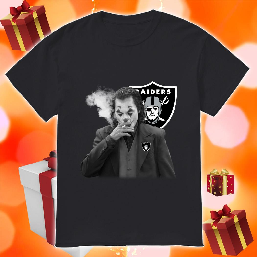 Joker Joaquin Phoenix Raiders shirt