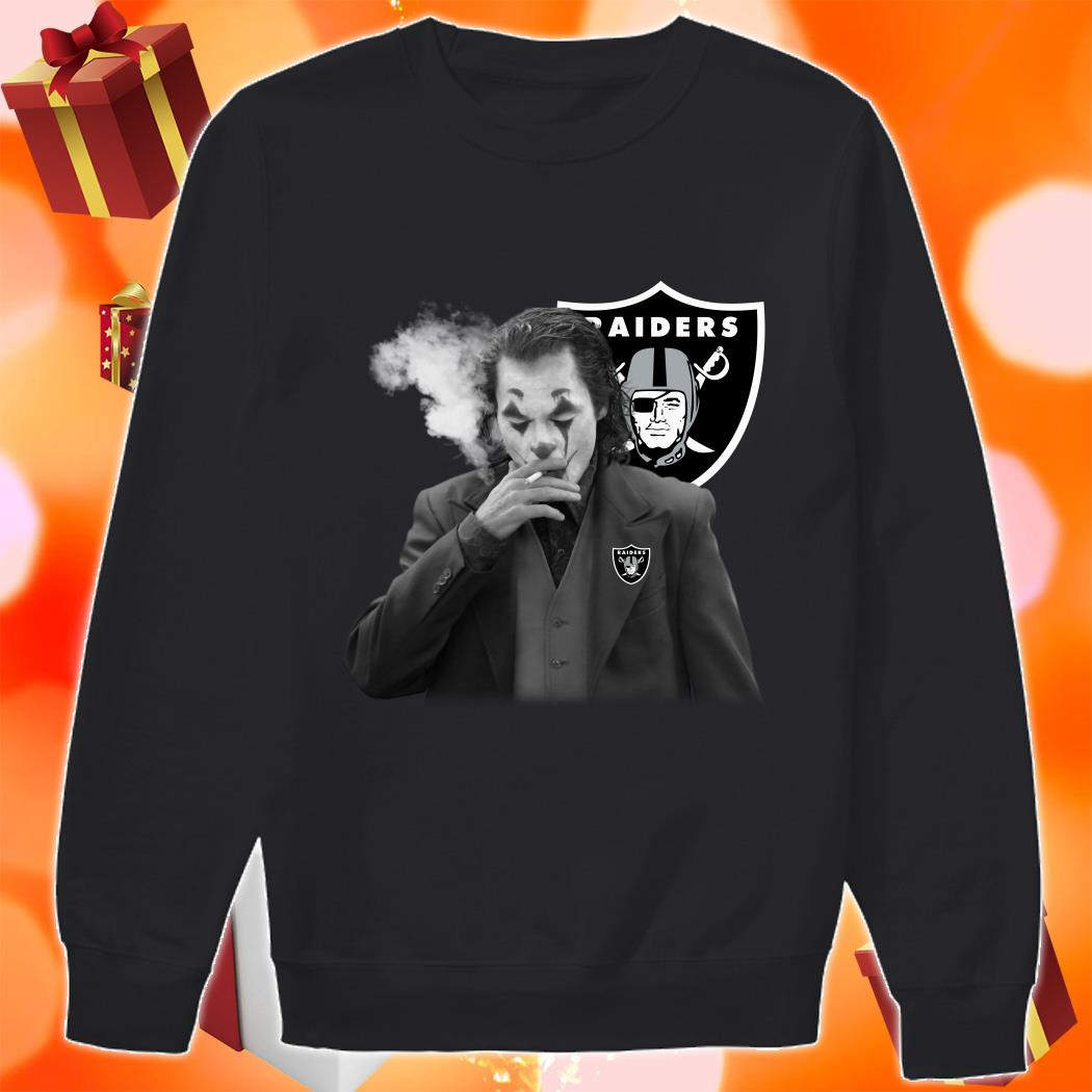 Joker Joaquin Phoenix Raiders sweater