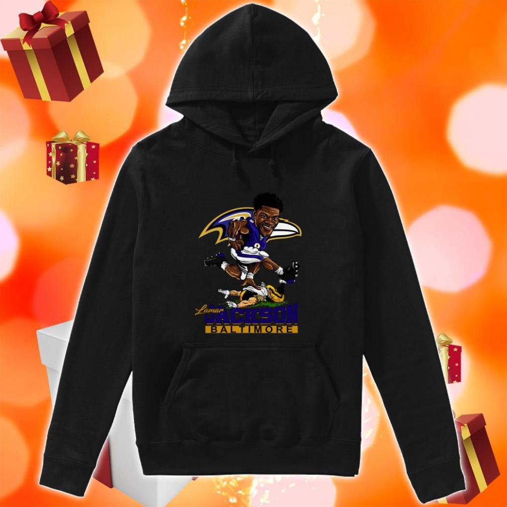Lamar Jackson Baltimore funny hoodie