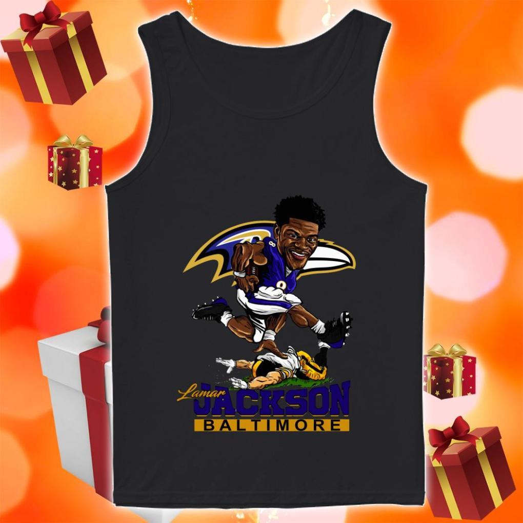 Lamar Jackson Baltimore funny tank top