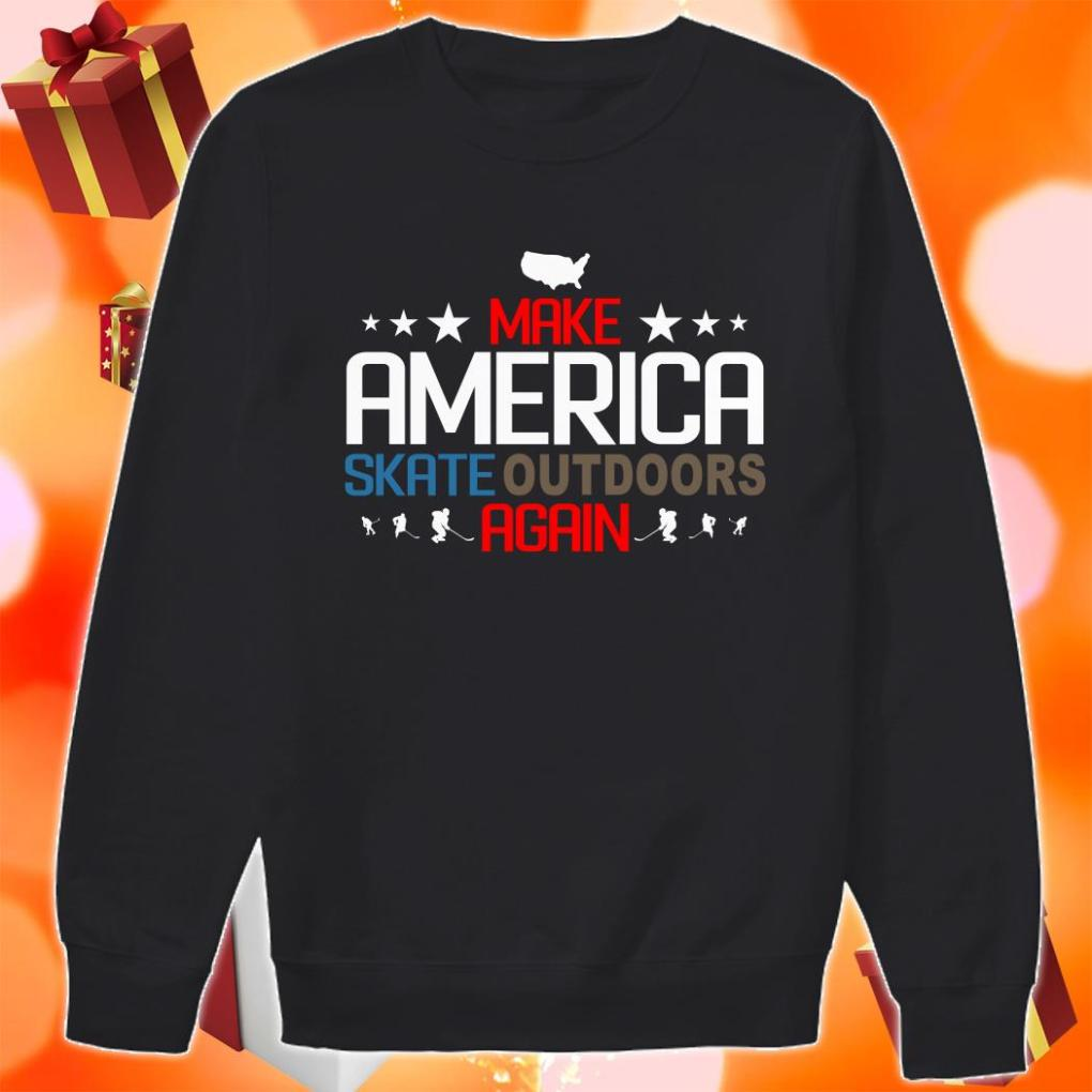 Make America Skate outdoors again sweater
