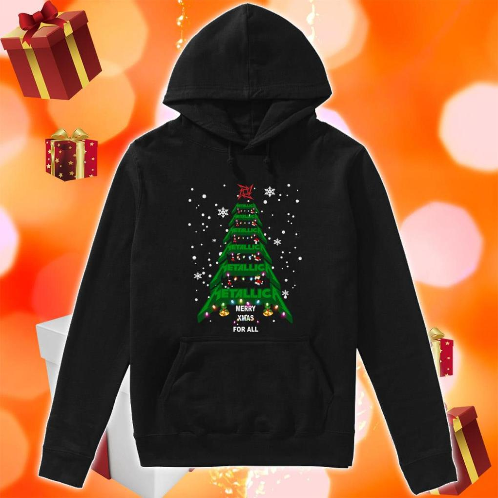 Metallica Merry Xmas For all hoodie