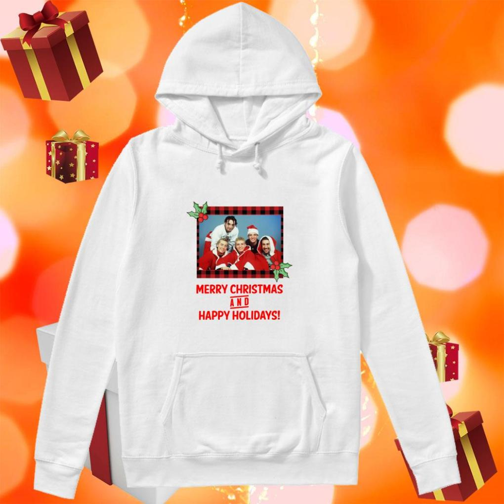 NSYNC Merry Christmas and Happy Holidays hoodie