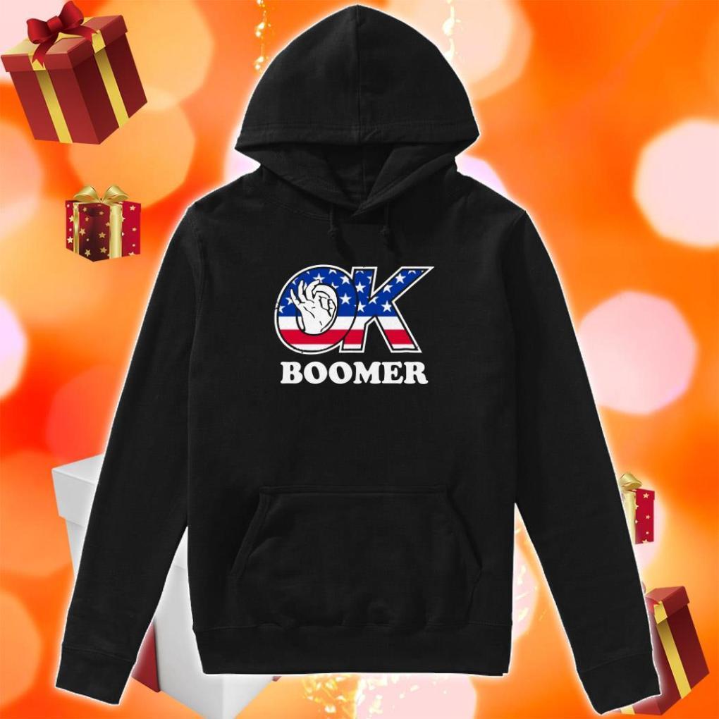 Ok Boomer American hoodie