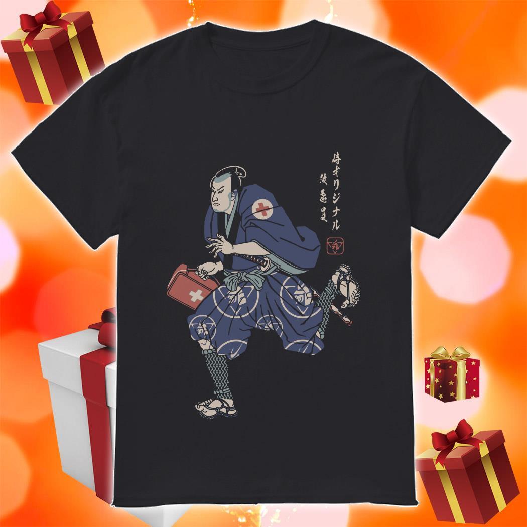 PARAMEDIC SAMURAI shirt