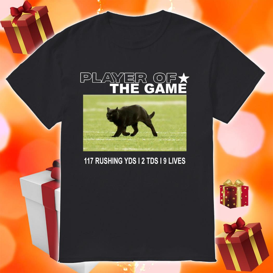 Player of the Game Black Cat Dallas Cowboys shirt