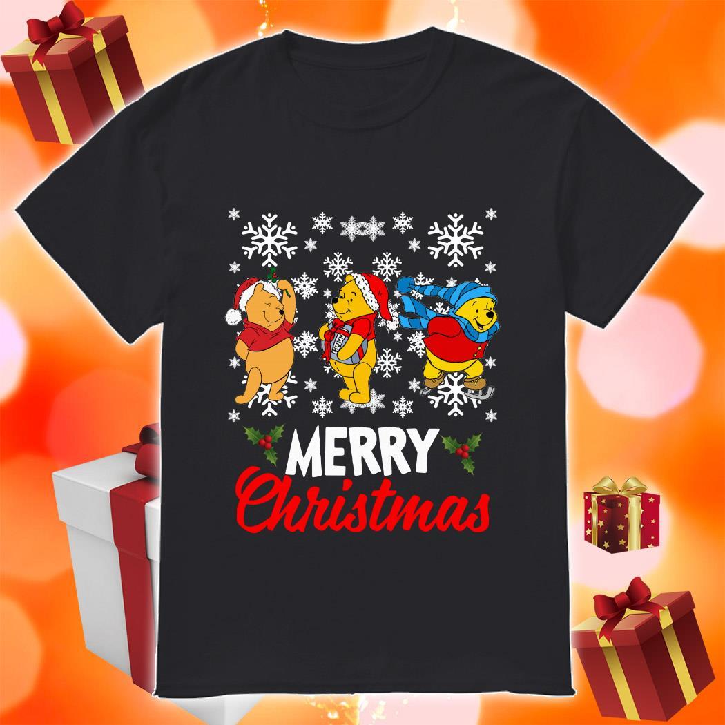 Pooh Merry Christmas shirt