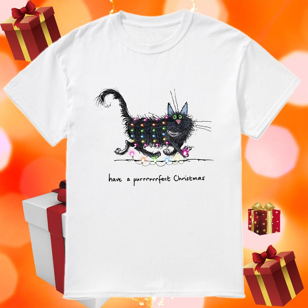 Have a purrfect Christmas shirt