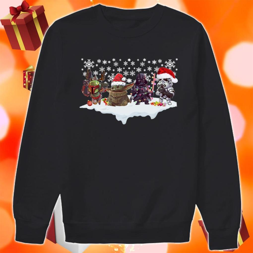 Star Wars Characters chibi Merry Christmas sweater