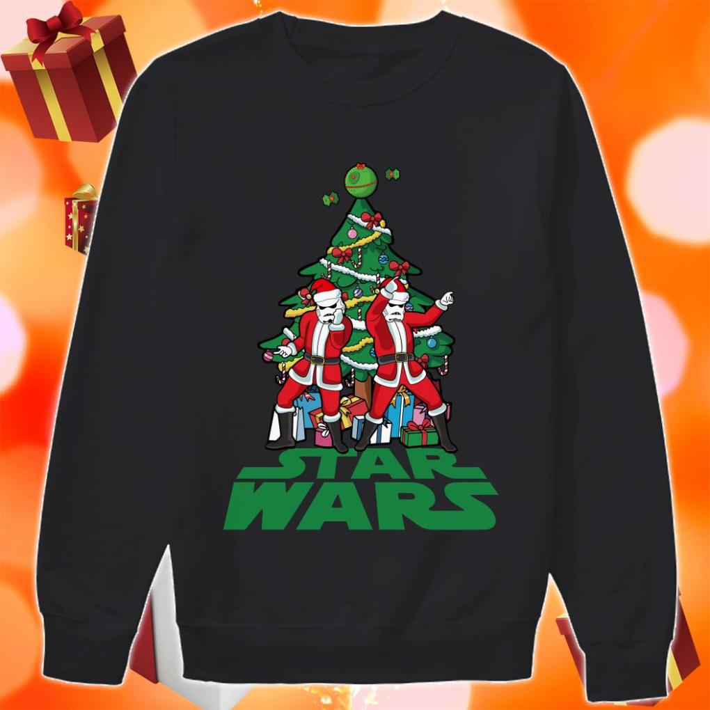 Star Wars Stormtrooper Christmas tree sweater