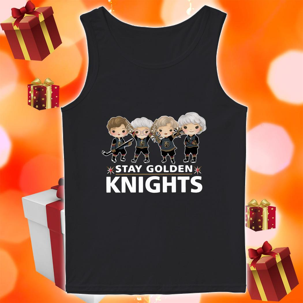 Stay Golden Knights tank top