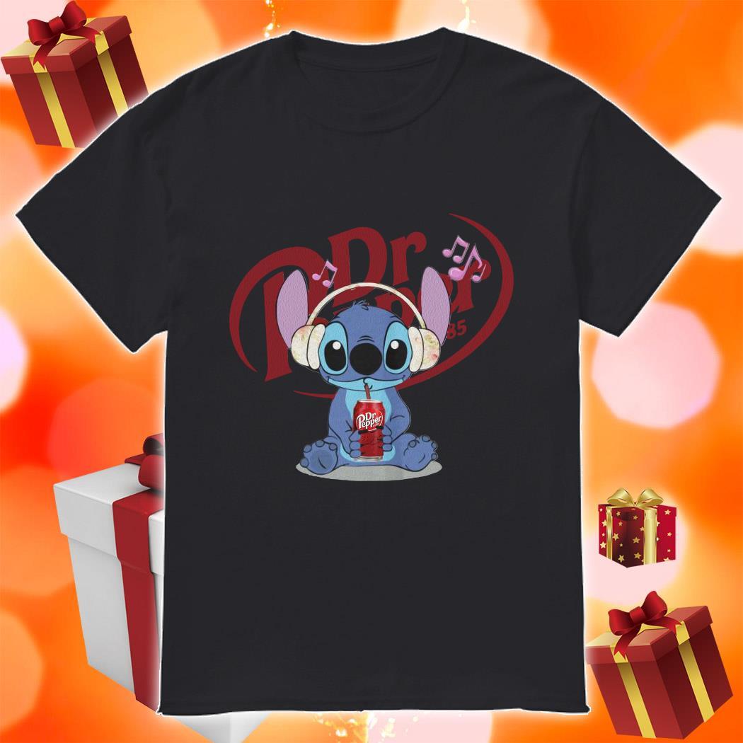 Stitch drink Dr Pepper shirt