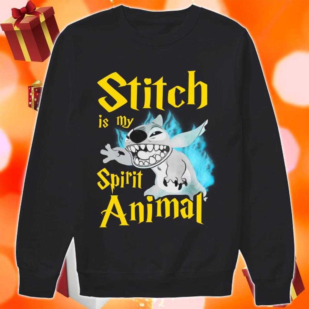 Stitch is my Spirit animal Harry Potter sweater