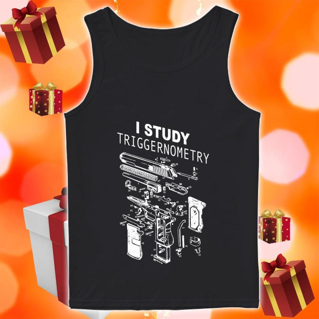 I study triggernometry tank top