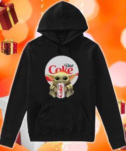 Baby Yoda hug Diet Coke hoodie
