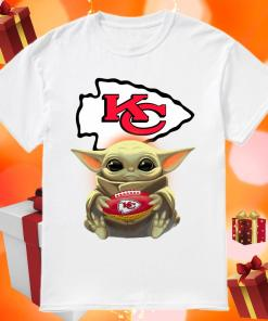 Baby Yoda Hug Kansas City Chiefs Shirt
