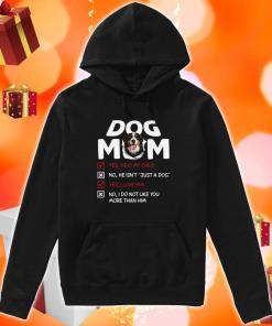 Bernese Mountain Dog Mom He is my child I love him hoodie