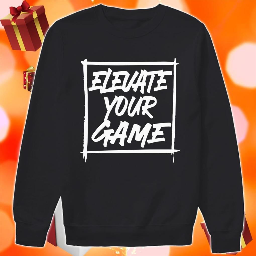 Bronny James ELEVATE YOUR GAME sweater