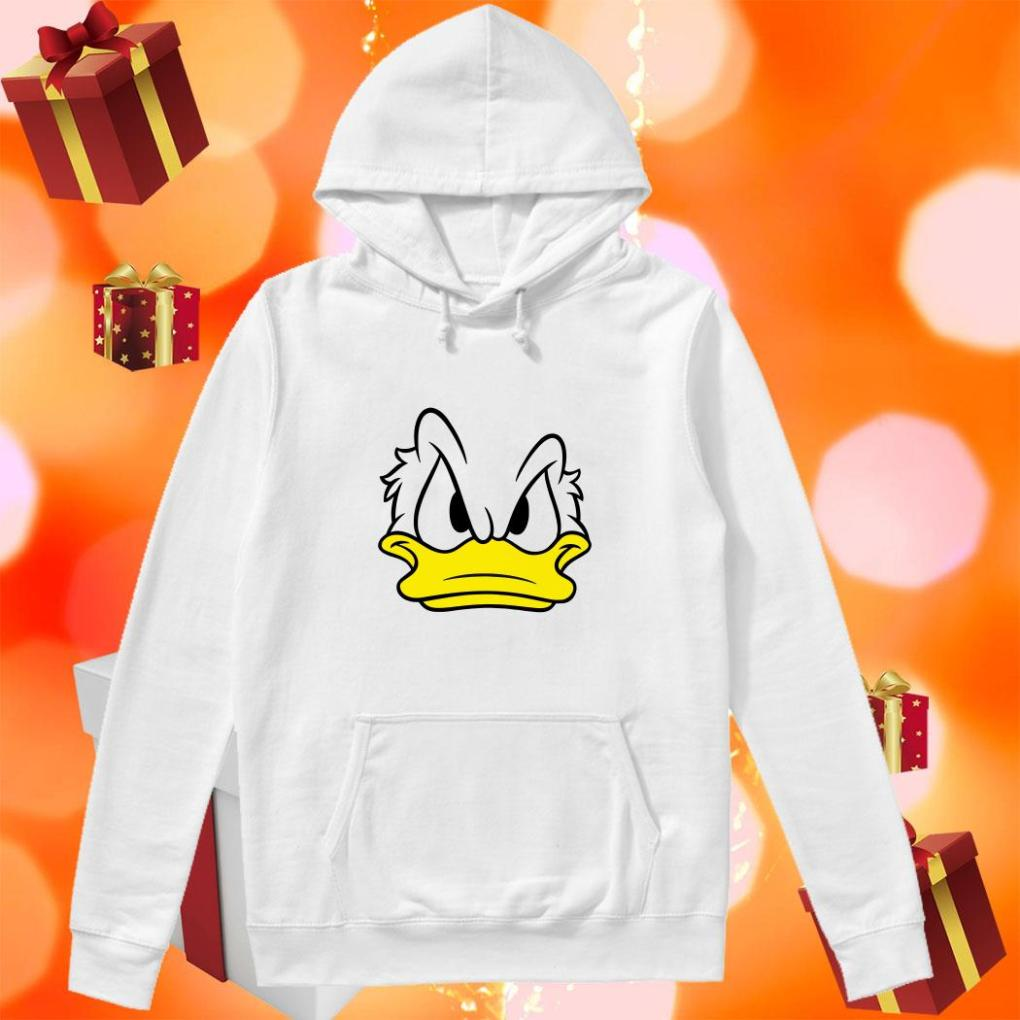 Donald Duck face hoodie