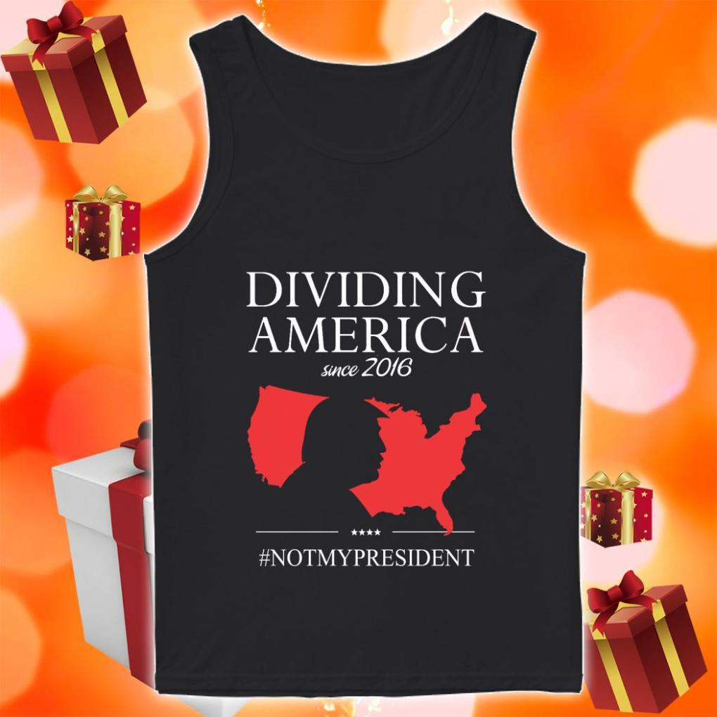 Donald Trump Driving America since 2019 not my president tank top