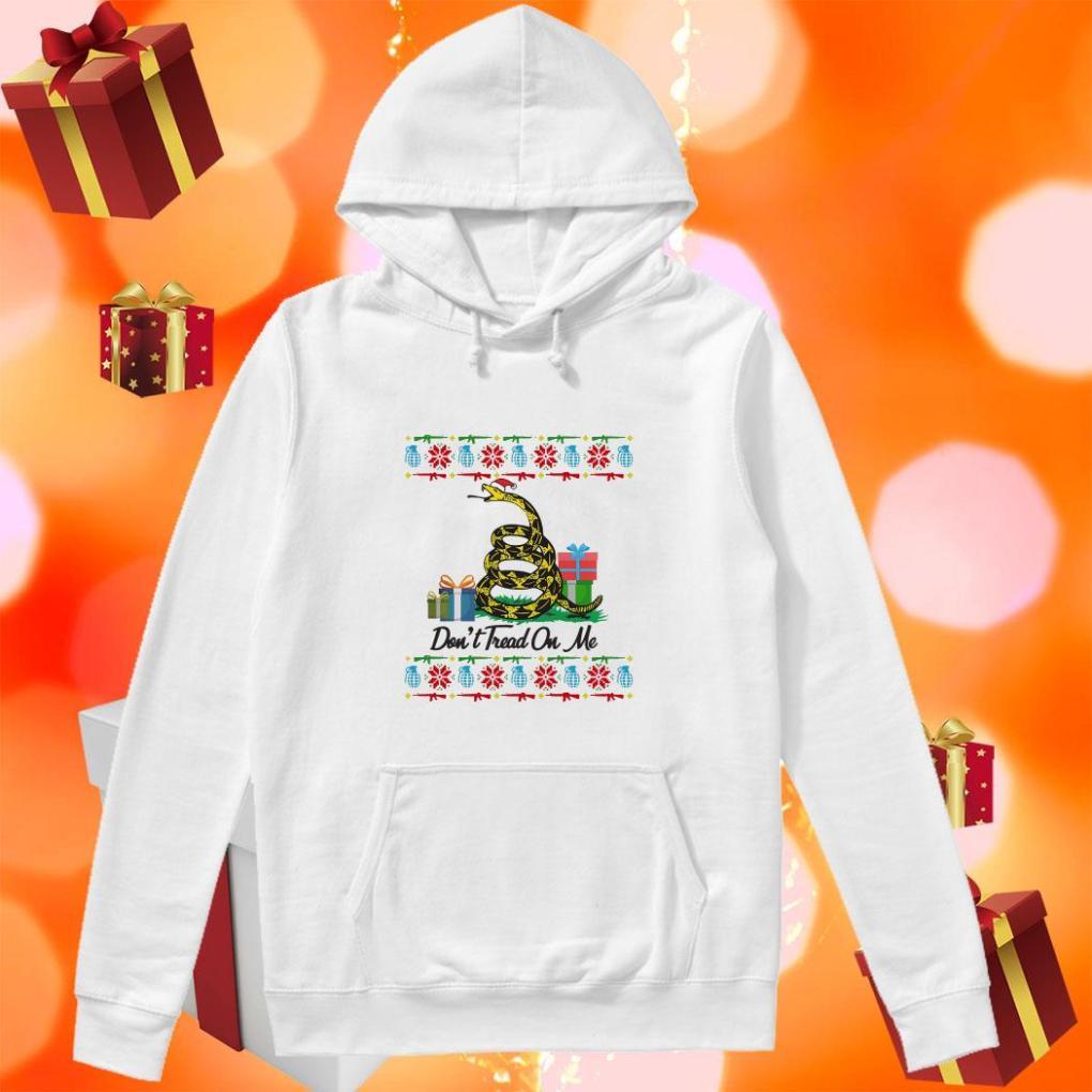 Don't Tread On Me Ugly Christmas hoodie