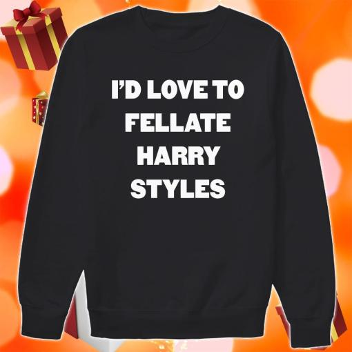 I'd love to fellate Harry Styles sweater