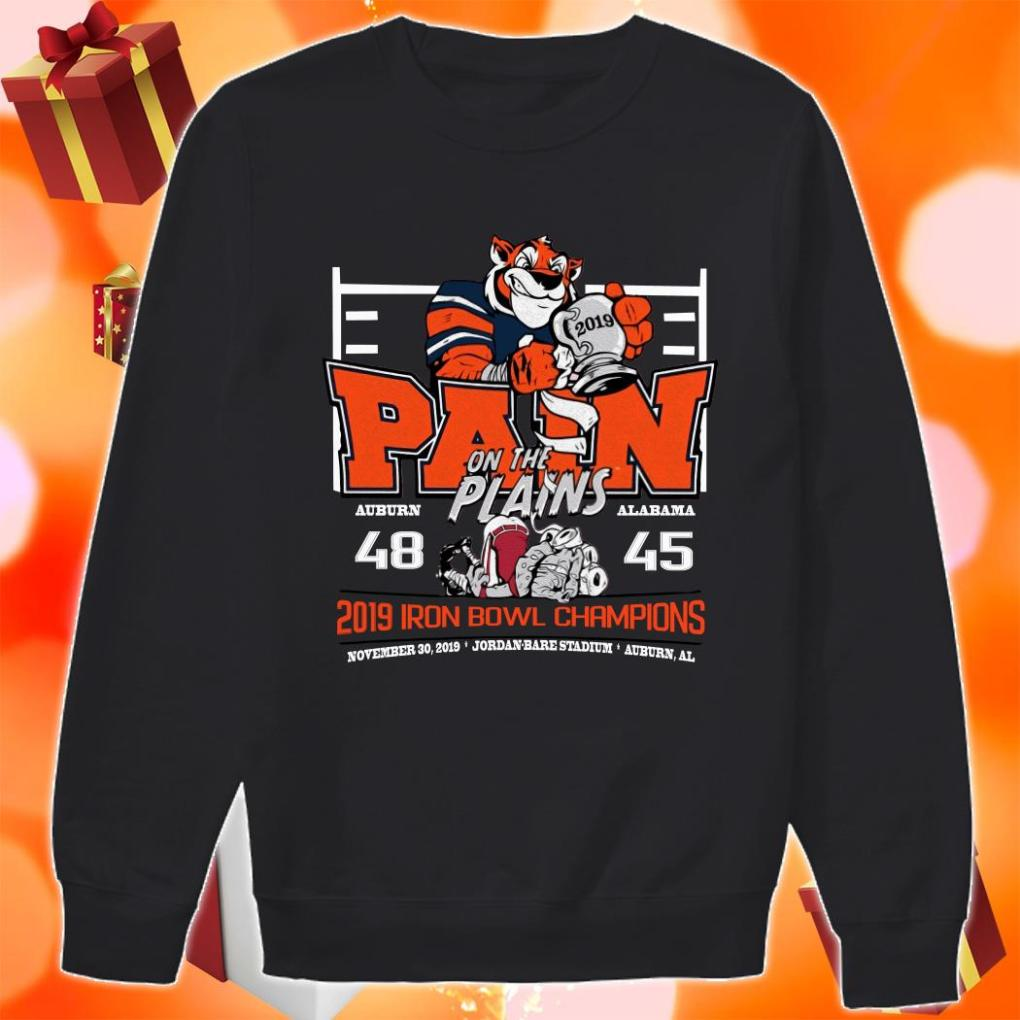 Iron Bowl Champions 2019 Auburn Tigers Pain on the plains shirt 2 Picturestees Clothing - T Shirt Printing on Demand