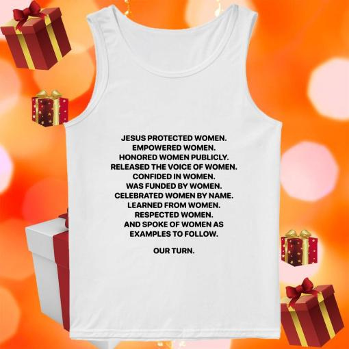 Jesus Protected Women Empowered Women tank top