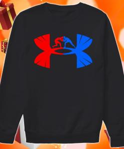 Judo Under armour logo parody sweater