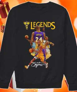 Kobe Bryant 24 Los Angeles Lakers Legends signature sweater