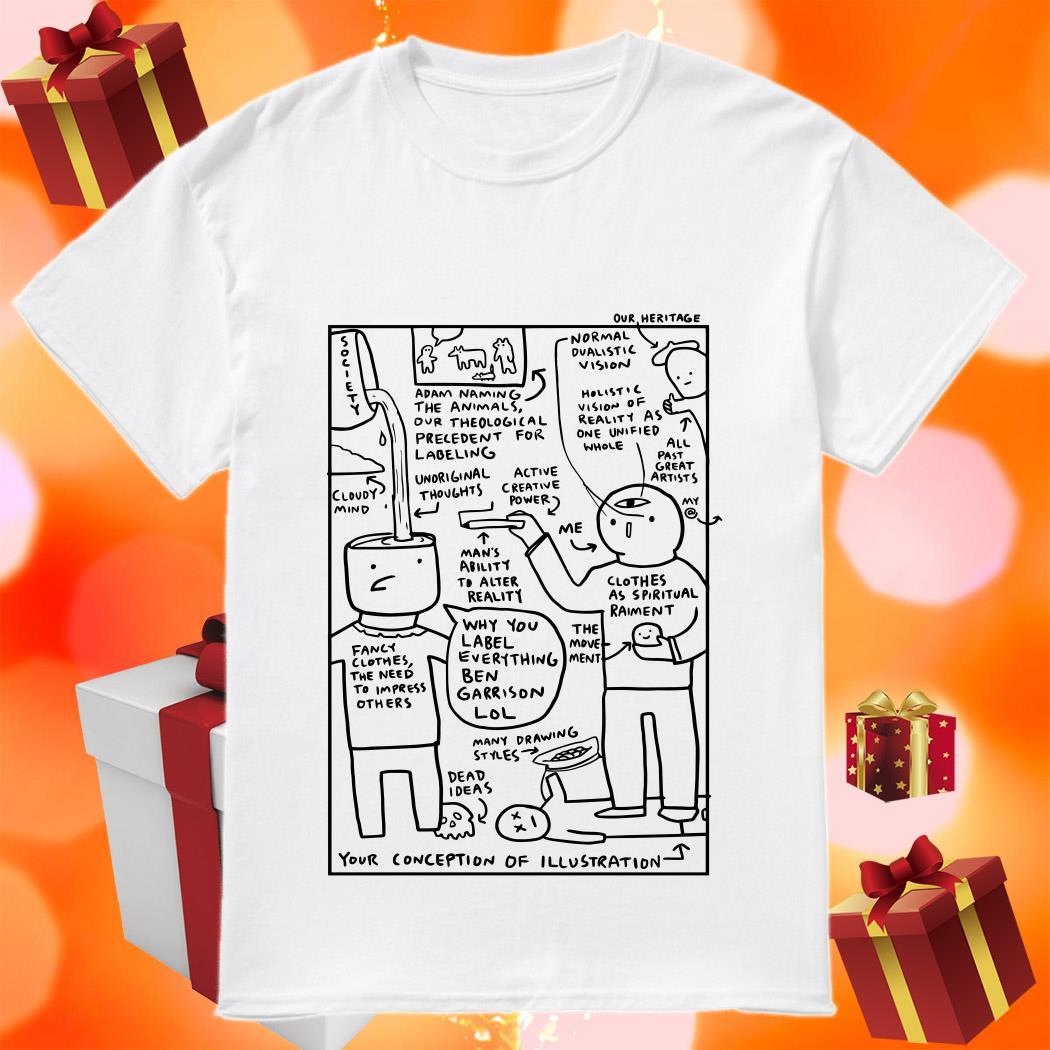 Why You Label Everything Ben Garrison LOL Shirt