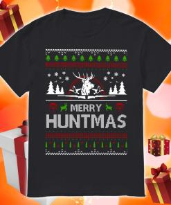Merry Huntmas Ugly Christmas shirt