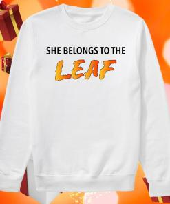 She Belongs To The Leaf sweater