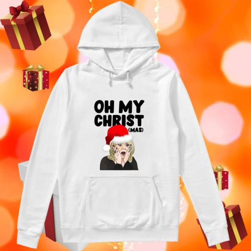 Stacey Shipman Santa Oh My Christmas hoodie