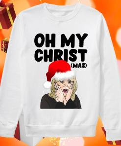 Stacey Shipman Santa Oh My Christmas sweater