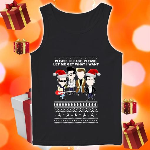The Smiths Please Please Please Let Me Get What I Want tank top