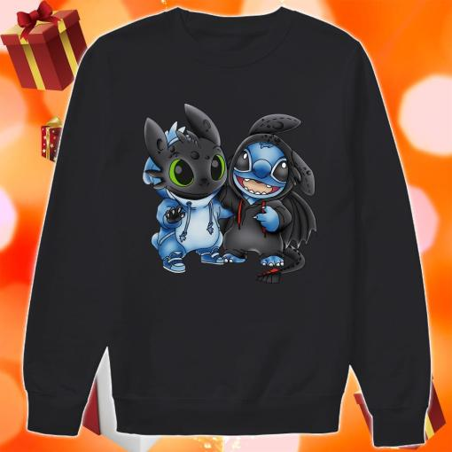Toothless and Stitch sweater