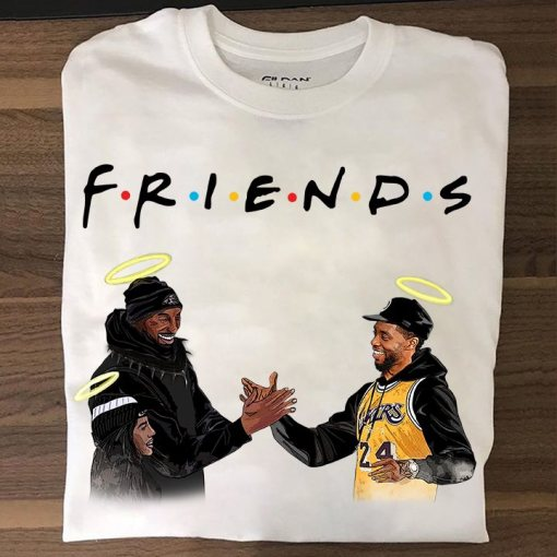 Kobe Bryant and Nipsey Hussle Friends shirt 1 Picturestees Clothing - T Shirt Printing on Demand