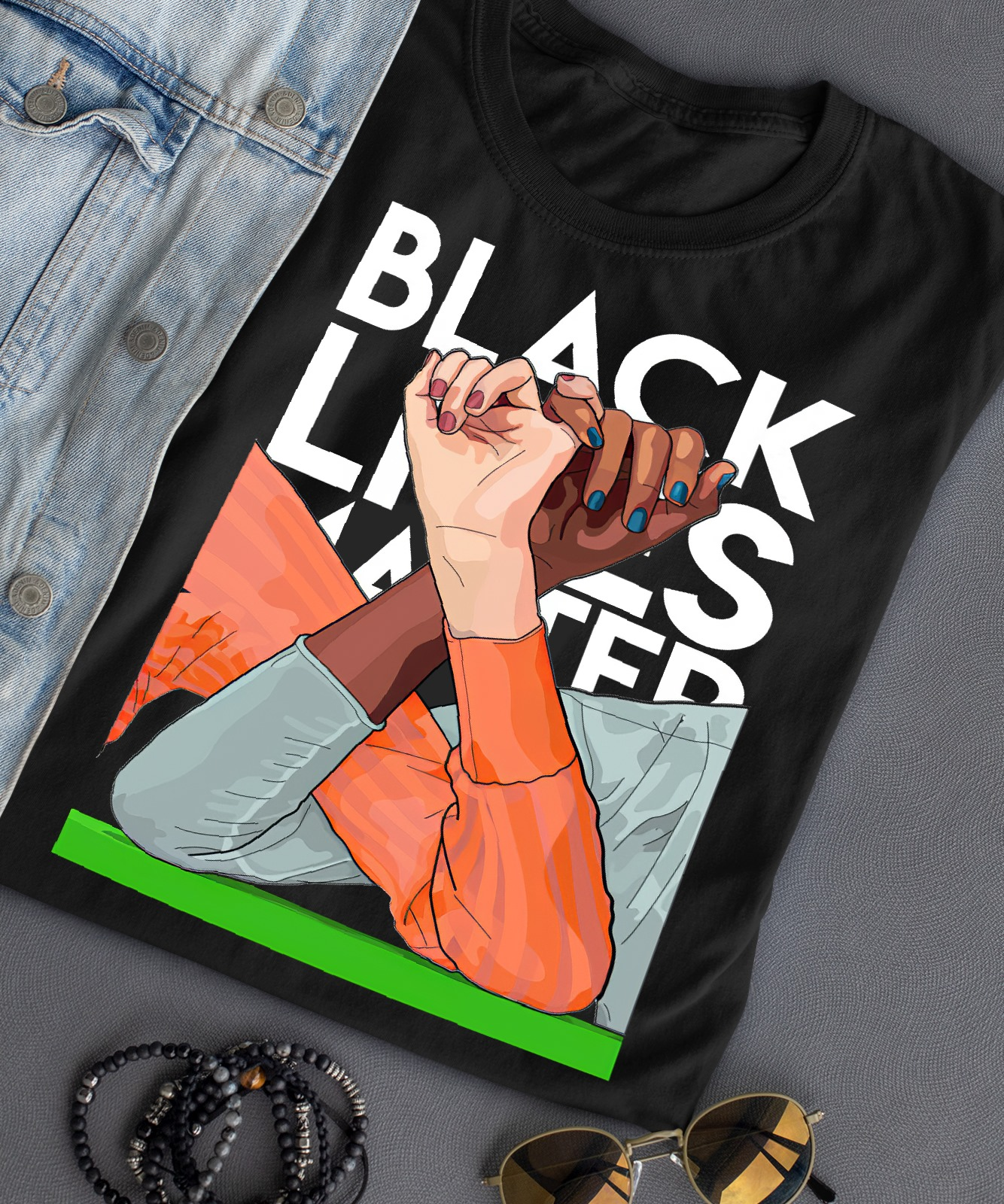 Wakanda Forever black lives matter shirt 4 Picturestees Clothing - T Shirt Printing on Demand
