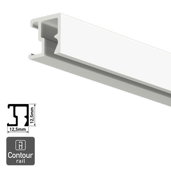 Artiteq Contour Rail white primer 2.0m