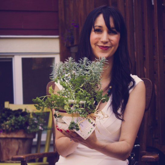 Mini Herb-Garden! Great Gift Idea!!