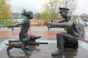 Bronze Statues in Victoria, BC