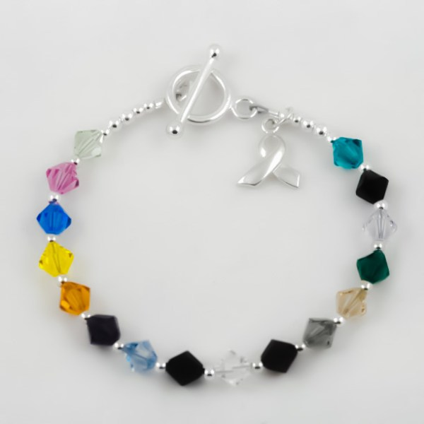 LuBella Jewelry Cancer Bracelet
