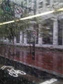 Downtown Rain, On The Bus